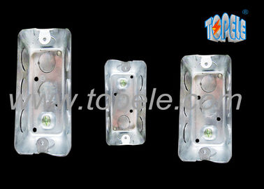 Galvanized Steel Electrical Boxes And Covers Rectangular Iso Certificate